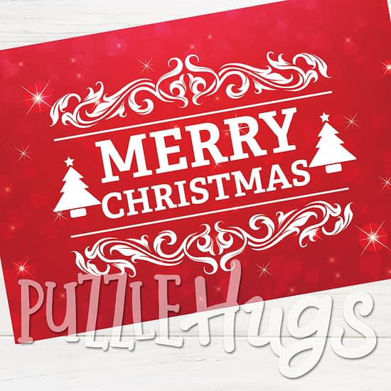 Christmas Greeting Card puzzle